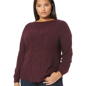 Lucky Brand Cable Knit Sweater NEW